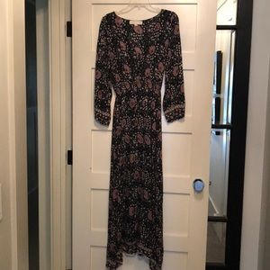 Natalie Martin Maxi Dress 100% Rayon